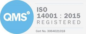 ISO 14001:2015 badge